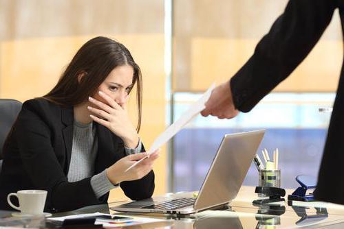 Увольнение за несоответствие должности: особенности, правила и порядок процедуры, нормы ТК РФ