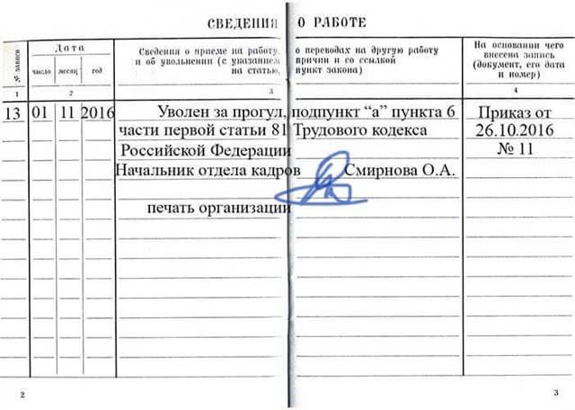 Увольнение за прогул: пошаговая инструкция, особенности, уважительные причины, статья ТК РФ, образец заявления