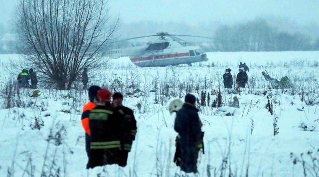 М. Топилин дал поручения в связи с крушением самолета компании «Саратовские авиалинии»
