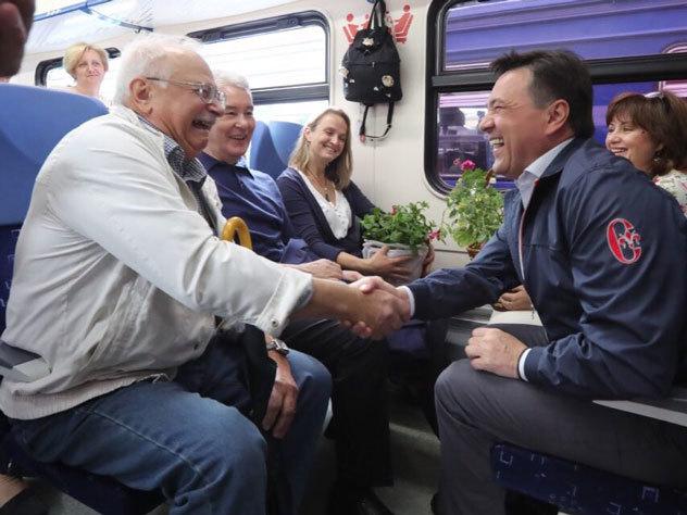 Расширен список льготников побесплатному проезду впригородных поездах Москвы иМО
